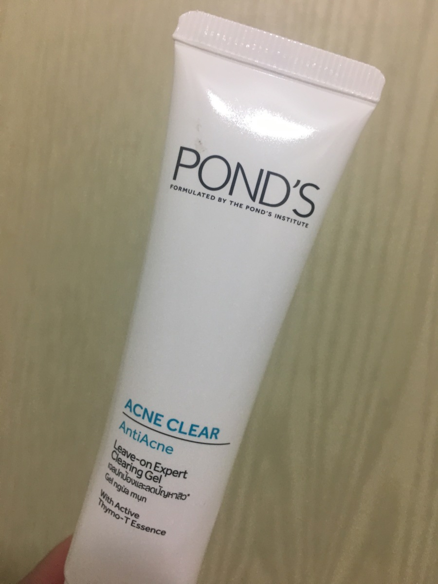 Pond's Leave On Clearing Gel Review