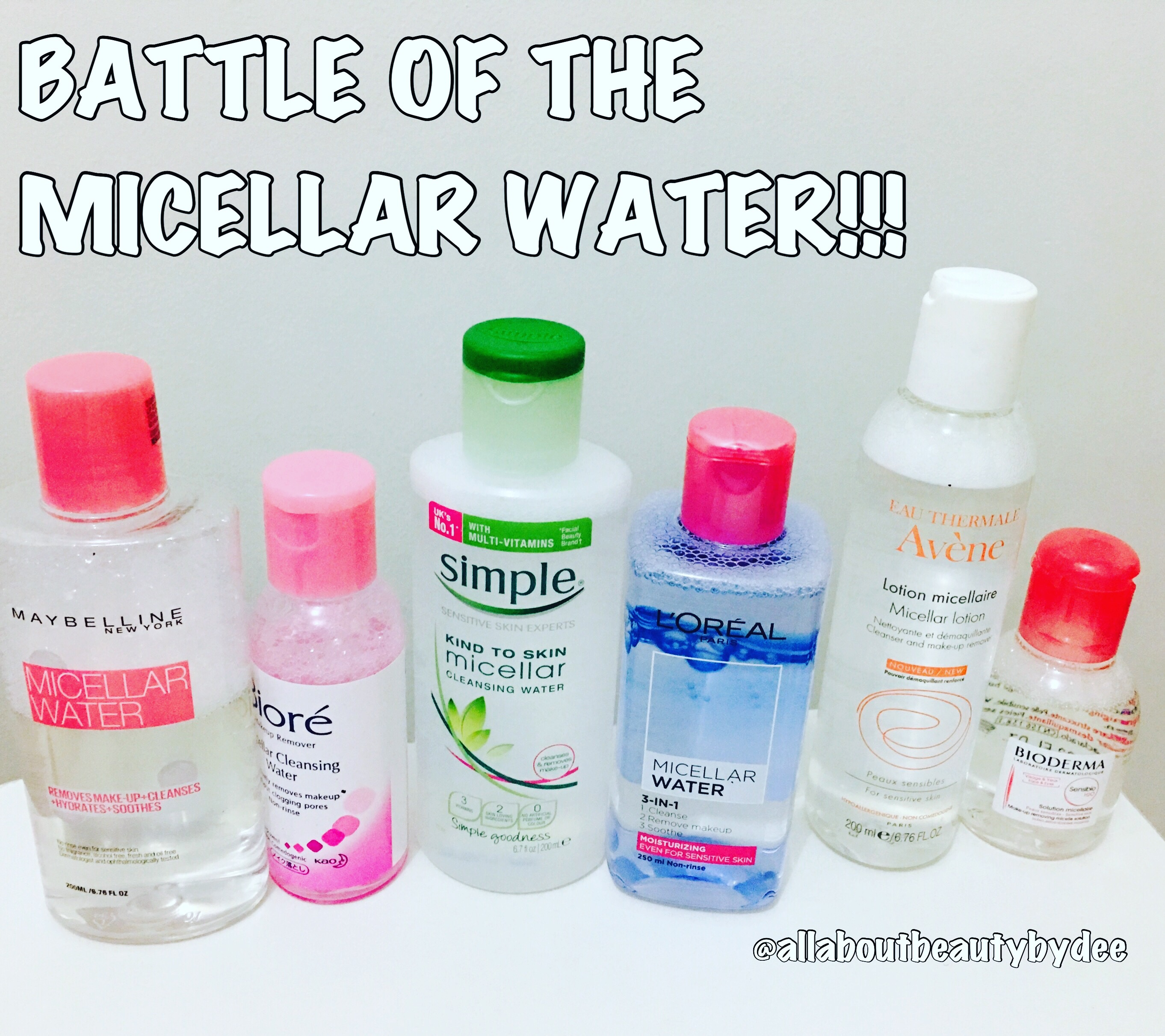The Ultimate Battle Of Micellar Water L Oreal Makeup 250ml Blue I Have Never Heard This Term Before Day Maybelline Launched Their In Philippines Didnt Even Know It Existed