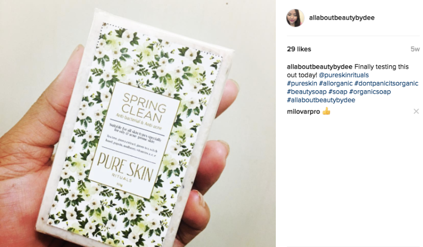 Review : PURE SKIN RITUALS' SPRING CLEAN SOAP