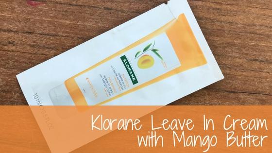 Klorane Leave In Cream : Hot orNot?