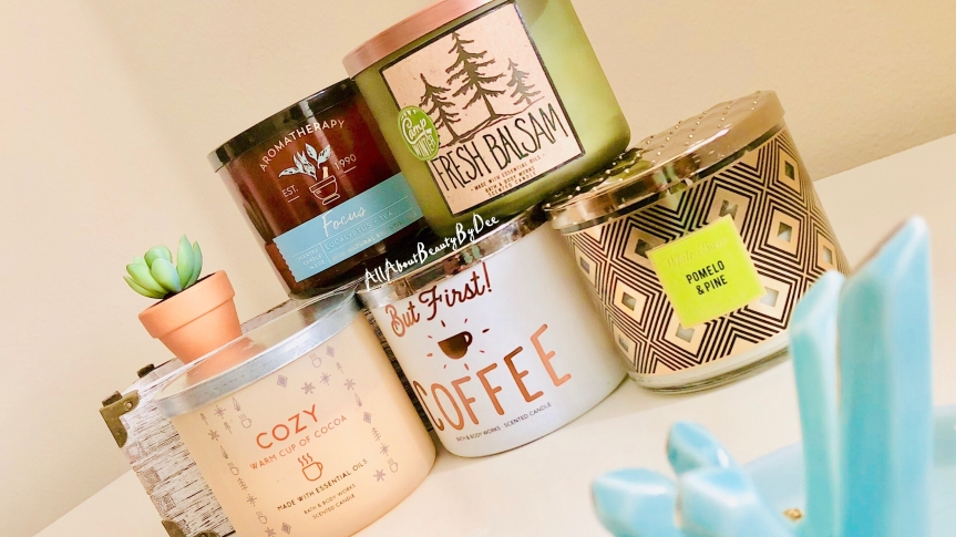 Five Fave Bath & Body Works Candles 2017