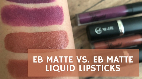 EB Matte Lipsticks - ChooseDay Battle