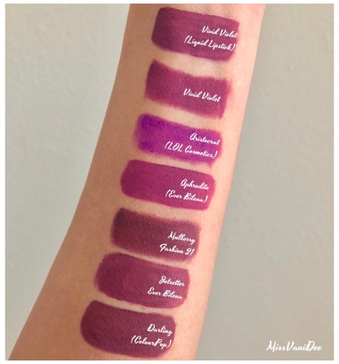 Best Purple Lipsticks for Morena