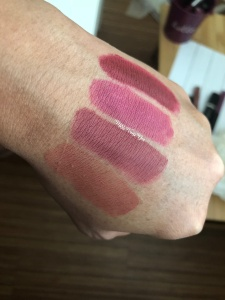 Pink Sugar Swatches