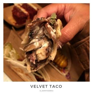 Velvet Taco - Closer Look