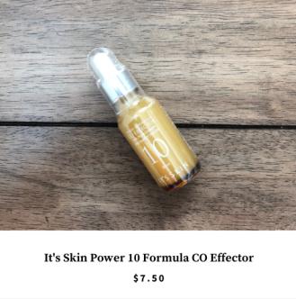 Althea Korea Haul - It's Skin Power 10 Formula CO Effector
