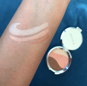 BeccaXChrissyTeigen Endless Bronze and Glow Arm Swatches