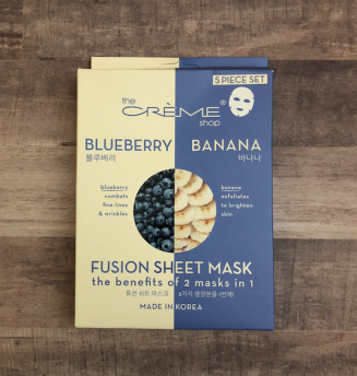 The Creme Shop Blueberry Banana Front Packaging