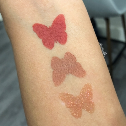 Arm Swatches - Lips